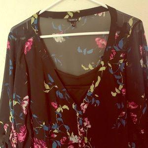 Torrid Floral Button Dress